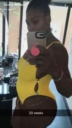serena pregnant