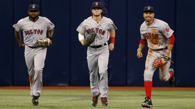 MLB: Boston Red Sox at Tampa Bay Rays