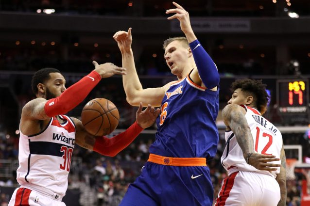 porzingis vs wizards