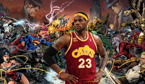 LeBron-Hero-Comic-Book
